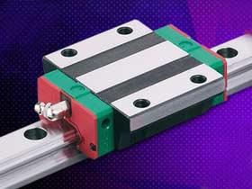 上银滚珠丝杆直线导轨3D模型/HIWIN线型模组/直线轴承2D+3D选型样本