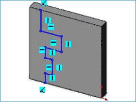 solidworks草图工具 封闭草图到模型边线