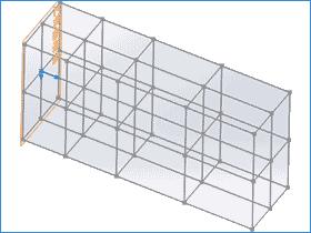 solidworks 网格系统 快速绘制结构构件3D草图