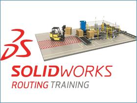 SOLIDWORKS Routing 简单介绍 SW步路基础教程