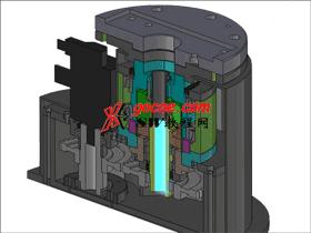 6轴工业机器人之第一轴结构_3D图纸模型_RBAA1003