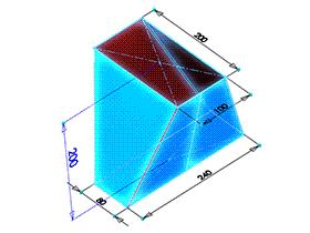 每日一练:#63 矩形换向连接管 solidworks 薄板放样 | 钣金视频教程