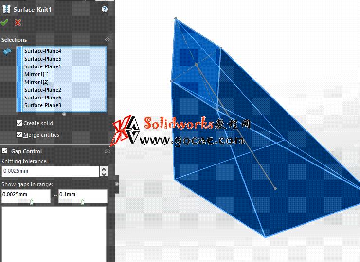 每日一练:#67 方口直角连接管 solidworks 薄板放样 | 钣金视频教程