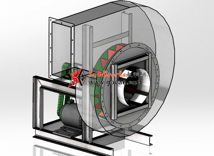 每日一练 #101 | 离心风机 | solidworks2020 机械设计 案例视频教程