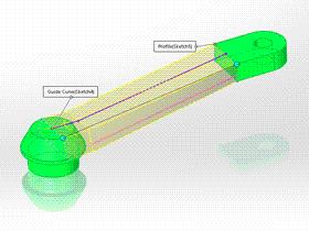 Solidworks入门教程:EB092 实体放样 自行车曲柄 solidworks2020 视频教程