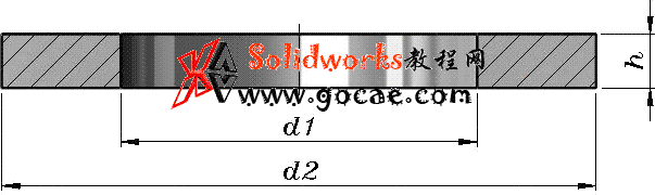 solidworks 标准件 #39 平垫圈C级 GB╱T95 3D模型 三维零件库 标准查询