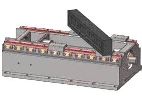 数控机床直线导轨安装方法及检测工装方法