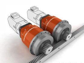大型机床用双电机齿轮消隙移动定位结构设计