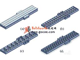 大型机床 超长床身对接机构 连接装置