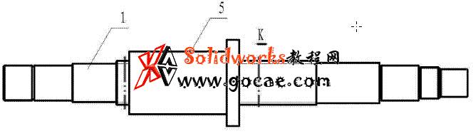 镗床镗轴进给装置结构介绍
