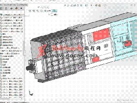 落地镗床主轴箱重心平衡装置