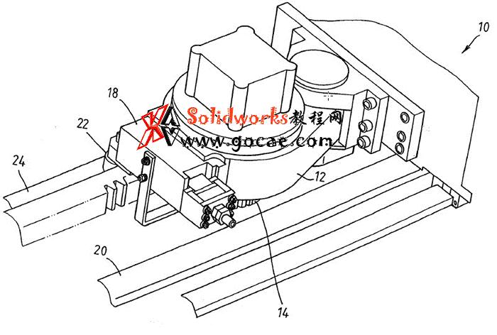 龙门铣床消隙驱动机构