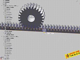 solidworks装配体培训#09_齿轮齿条配合