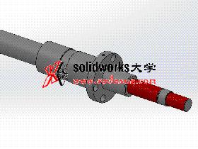 solidworks 工程图视频教程: 3根丝杆的绘制和出图
