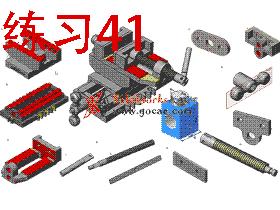 每日一练:#41 十字移动XY轴钻床虎钳 完整免费 solidworks建模视频教程