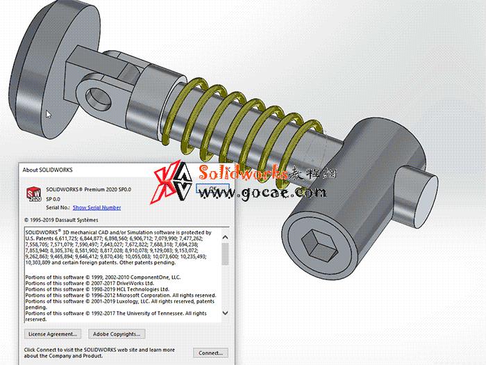 solidworks2020 SP0 SP1 SP2 SP3 SP5 如何开启小金球(Realview)/ SW渲染特效/realhack