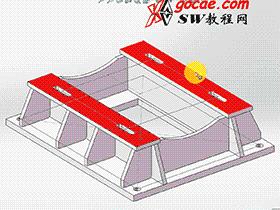 solidworks焊件-教程#7-1-电机座焊接-视频教程